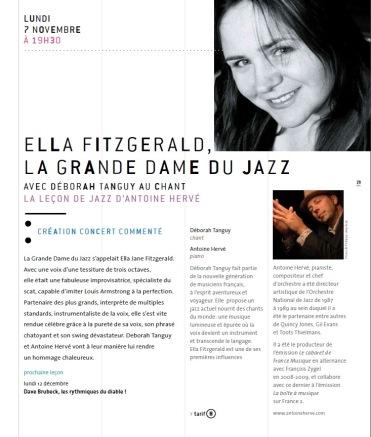Leçon de Jazz Antoine Hervé