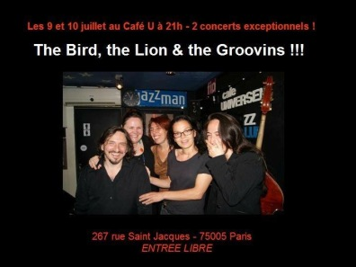 The Bird, The Lion and the Groovins